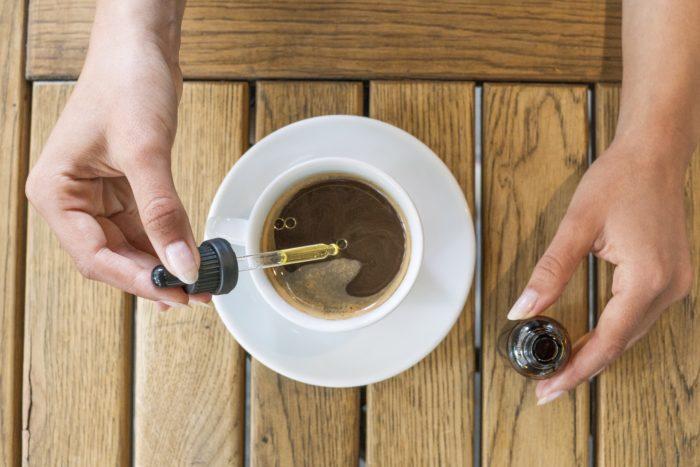 טיפות בקפה - מריחואנה רפואית לדיכאון